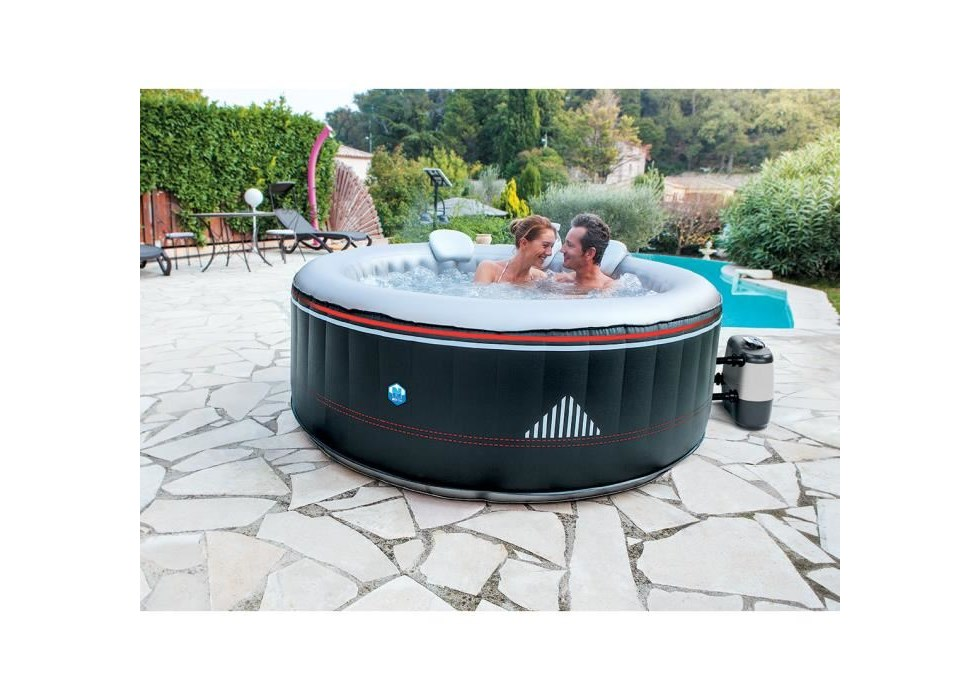 Netspa spa gonflable montana for Bruit spa gonflable